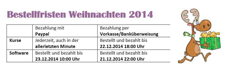 bestellfreistenxams2014