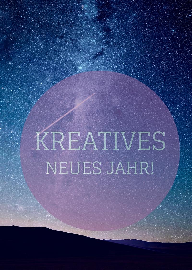 Ein kreatives neues Jahr!